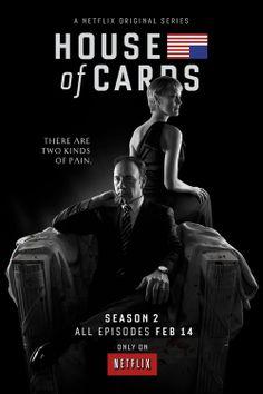 House of Cards season 2 on Netflix Feb 14th!