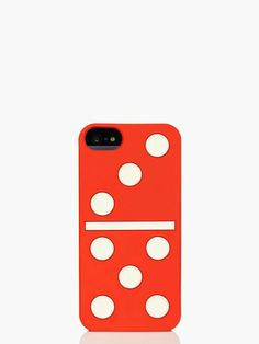 Kate Spade - dominos silicone iphone 5 case