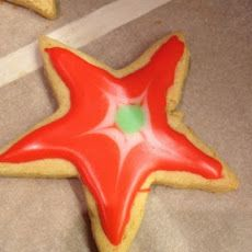 Rice Flour Sugar Cookies with Simple Icing