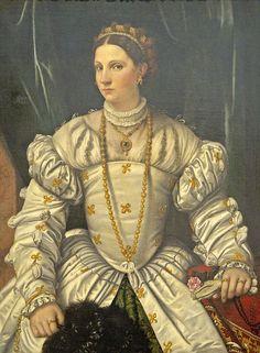 Portrait of a Lady in White c. 1540 Moretto da Brescia Italian, 1498 - 1554 National Gallery of Art Italian Renaissance, Renaissance Art, Renaissance Clothing, Renaissance Portraits, Renaissance Costume, Medieval Art, Historical Costume, Historical Clothing, Historical Dress