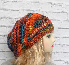 Miluji podzim ♥♥♥ Knitted Hats, Crochet Hats, Headbands, Free Pattern, Knitting, Fashion, Knitting Hats, Moda, Head Bands