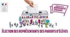 Election des représentants des parents d'élèves : Comment voter ? Rite De Passage, Parents, Playing Cards, Peace, French, Learning, Polling Place, Nursery School, Fle
