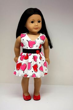 American Girl Doll ClothesSweetheart Dress by sewurbandesigns, $22.00