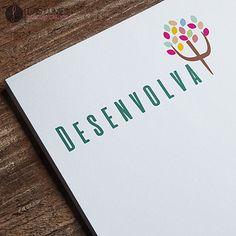Desenvolvimento de Identidade Visual para Consultório Psicológico. logotipo, logo, psicologia, design, design gráfico