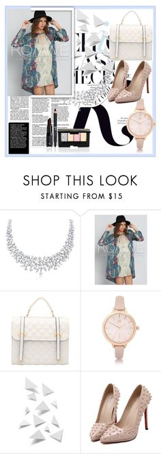 """""""Chic"""" by amnagirl ❤ liked on Polyvore featuring KAROLINA and River Island"""