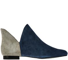 Whether you wear them with dresses, skirts, or cuffed jeans, these slip-on ankle boots by Lori Goldstein enhance your ensemble. QVC.com