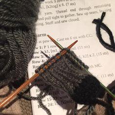 Perfect way to end a day #happy #knitting #lamb #wool #knit #sheep #baa #knitpro #knittersofinstagram