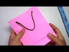 Sacolinha de papel Fácil de fazer - YouTube Origami, Paper Crafts, Youtube, Make It Yourself, Coca Cola, Plastic Craft, Craft Videos, Handmade Crafts, Make Hair Bows