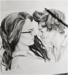 One Direction Best Song Ever Veronica (aka Zayn Malik) and Harry Styles Illustration by Unknown Artist One Direction Fan Art, One Direction Drawings, One Direction Memes, One Direction Pictures, Harry Styles Dibujo, Harry Styles Drawing, Best Song Ever, Best Songs, Desenhos One Direction