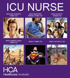 What ICU nurses do!