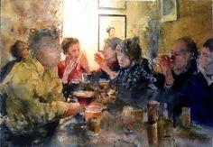 Lars Eje Larsson   WATERCOLOR @@@@......http://www.pinterest.com/venussanat/watercolor-painting/