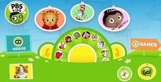 PBS Kids Online Literacy Games and Activities