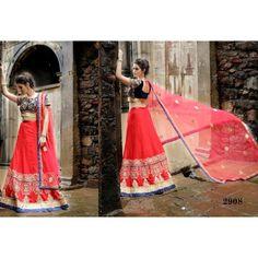 Aesthetic Partywear Lehenga Choli -2
