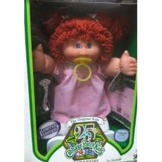 Cabbage Patch Kids ..... and a birth  certificate!