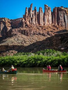 Utah is home to five U.S. naitonal parks and plenty of adventure. This photo: Labyrinth Canyon section of the Green River, Utah. Photo by Shara Johnson