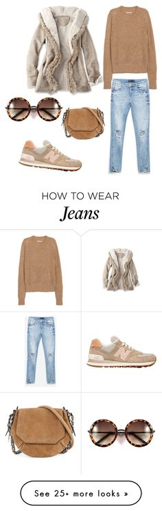 """""""Untitled #231"""" by dr-azzko on Polyvore featuring New Balance, Zara, H&M, rag & bone, women's clothing, women, female, woman, misses and juniors"""