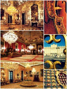 Spanish art and decadence - the Royal Palace of Madrid http://icollectcastles.com/post/86904470073/spanish-art-and-decadence-the-royal-palace-of-madrid