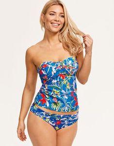 Swimsuit Tankini Slimming Nature Garden Plumeria Flower Bikinifor Women