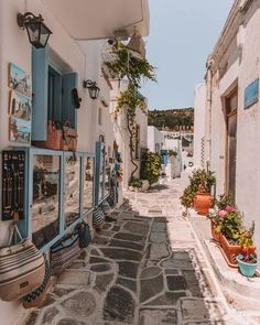 Lefkes: The Ancient Capital of Paros - Postcards By Hannah Oh The Places You'll Go, Places To Visit, Beautiful Places To Travel, Travel Aesthetic, City Aesthetic, Greece Travel, Ireland Travel, Travel Goals, Dream Vacations