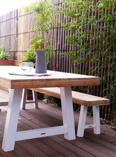 Melissa Lunardon Interior Design Photography by Kate Hansen Interior Design Photography, Picnic Table, Outdoor Furniture, Outdoor Decor, Kate Hansen, House, Home Decor, Decoration Home, Home