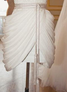 Dilek Hanif haute couture s/s 2013 has to do with the way it is draped.