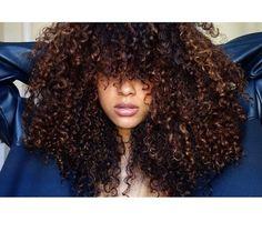 Big curly hair
