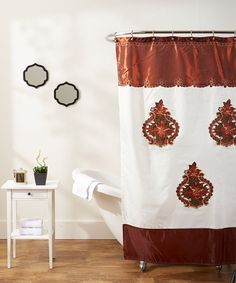 Majestic Brown Shower Curtain