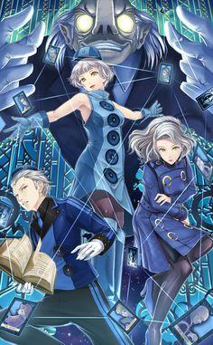 Elizabeth & Akihiko & Yukari | Persona 3 #anime #game