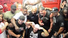 Grand Opening of Iron Addicts Gym | Mike Rashid | CT Fletcher