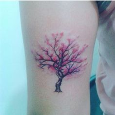 My friend's tattoo... CherryBlossom Tree...