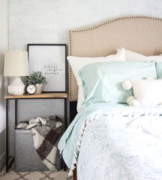 Searching for the perfect upholstered headboard? These beautiful options are all under $200, so you can find the one that you're dreaming of on a budget.