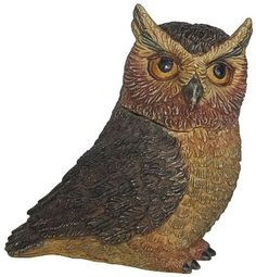 "Harmony Kingdom - Harmony Ball - Pot Bellys ""Great Horn Owl"" Figurine. #HarmonyKingdom #Statue #Sculpture #Decor #Gift #gosstudio .★ We recommend Gift Shop: http://www.zazzle.com/vintagestylestudio ★"