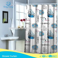 Sea Steamship Printed Polyester Shower Curtain Photo, Detailed about Sea Steamship Printed Polyester Shower Curtain Picture on Alibaba.com.
