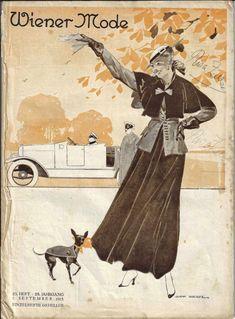 Wiener Mode September 1915 - inklusive Schnittmusterbogen - Blaustrumpf September, Fashion Magazines, Nice Asses, Pictures