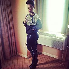 Fantasia Barrino loses her Charlotte, NC mansion Funky Fashion, Diva Fashion, Fantasia Barrino, Latest Celebrity Gossip, Celebrity Style Inspiration, Cut And Style, Girl Crushes, Nice Dresses, What To Wear