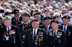 There were a total of some 1 million World War II veterans still alive in the United States as of last July; the U.S. Veterans Administration estimates that some 400 die every day. Please, make it a point to go thank one now.