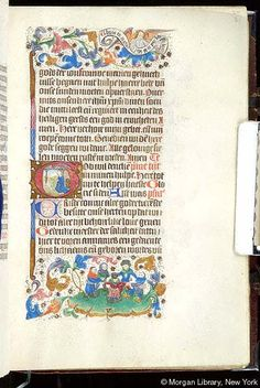 Book of Hours, MS S.2 fol. 31r - Images from Medieval and Renaissance Manuscripts - The Morgan Library & Museum