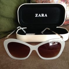Zara Sunglasses Bought it in Europe but was never used. Zara Accessories Sunglasses