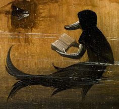 .:. Detail from The Garden of Earthly Delights, by Hieronymous Bosch