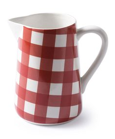 ! Red Large Anne Pitcher by At Home with Marieke #zulilyfinds