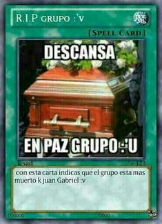 R.I.P Grupo :'U