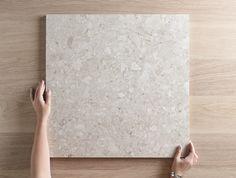 terazzo floor Stirling Terrazzo Look Grey Matt Tile Stone Bathroom, Beige Bathroom, Bathroom Floor Tiles, Tile Floor, Terrazo Flooring, Coloured Grout, Terrazzo Tile, Tiling, Small Bathtub