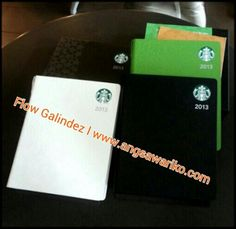 Starbucks Planner 2013 here in the Philippines. Read more about it at http://angsawariko.com/2012/11/starbucks-philippines-releases-limited-edition-2013-starbucks-planner/