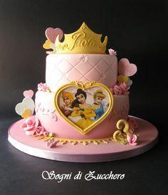aurora cake   sogni di zucchero: Princess dream cake