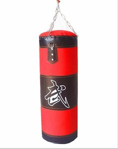 New Training Fitness MMA Boxing Heavy Sand Punching Bag With Chain (Empty) bda9016ceb923