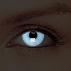 iD Lenses Transparent Glow In The Dark Contacts