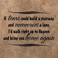 Thinking of my parents,  grandparents, and the special ones that have left me.  Miss all of you and wish you were here.