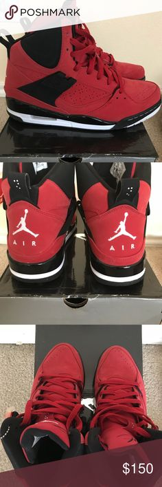 88bfaa04d0f7 Air Jordan 45 Flight High Gently Used. Original box. Jordan Shoes Sneakers  Jordans For