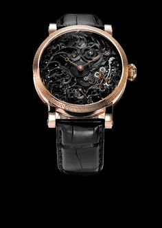 Blossom Black Tulip, GRIEB & BENZINGER Timepieces and Luxury Watches on Presentwatch