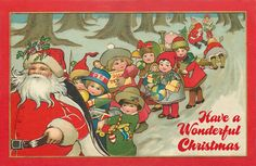 Free Adorable Christmas Postcard Printable from Crafty Secrets. Get the jumbo sized one off the Blog. PLEASE NOTE: our vintage images under go several changes, are copyrighted by us and are no longer in public domain. For personal use only please.